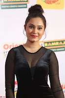 Vennela in Transparent Black Skin Tight Backless Stunning Dress at Mirchi Music Awards South 2017 ~  Exclusive Celebrities Galleries 089.JPG