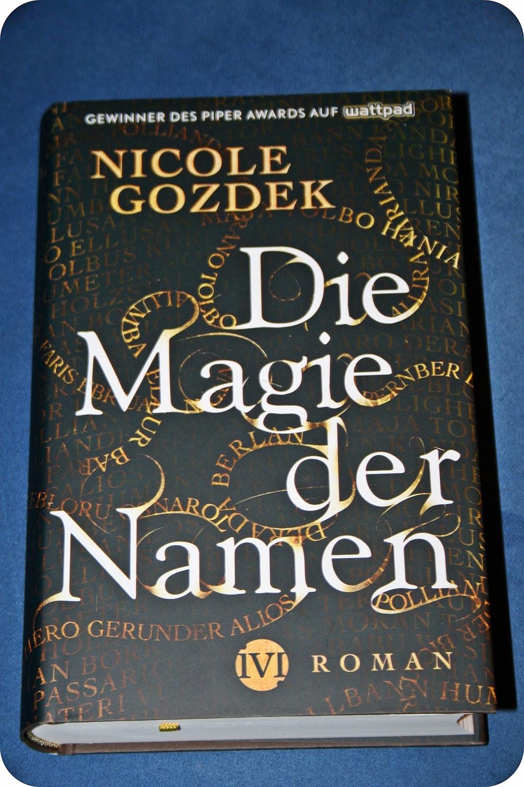 Rezension Die Magie Der Namen Von Nicole Gozdek