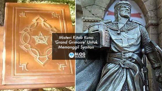 Kitab Kuno 'Grand Grimoire', Kitab Untuk Memanggil Syaitan