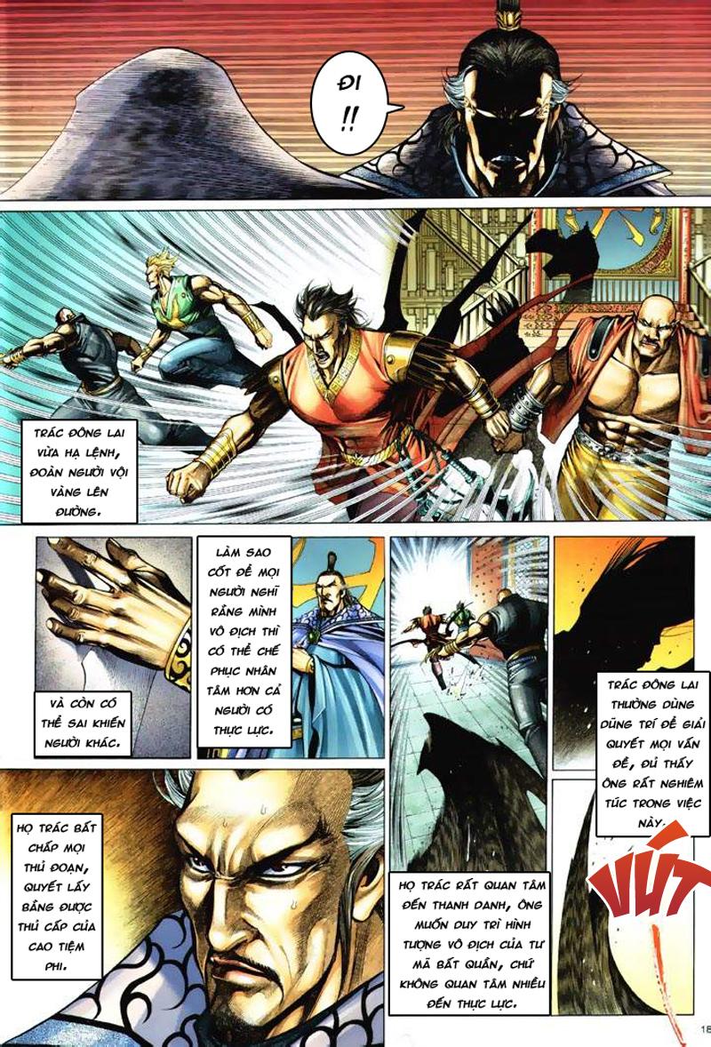Anh hùng vô lệ Chap 6: Anh hùng hữu lệ trang 18