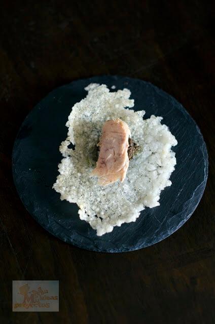 receta de la galleta de arroz tapenade y ventresca de bonito2