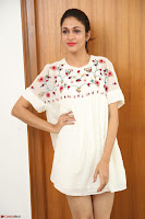 Lavanya Tripathi in Summer Style Spicy Short White Dress at her Interview  Exclusive 280.JPG
