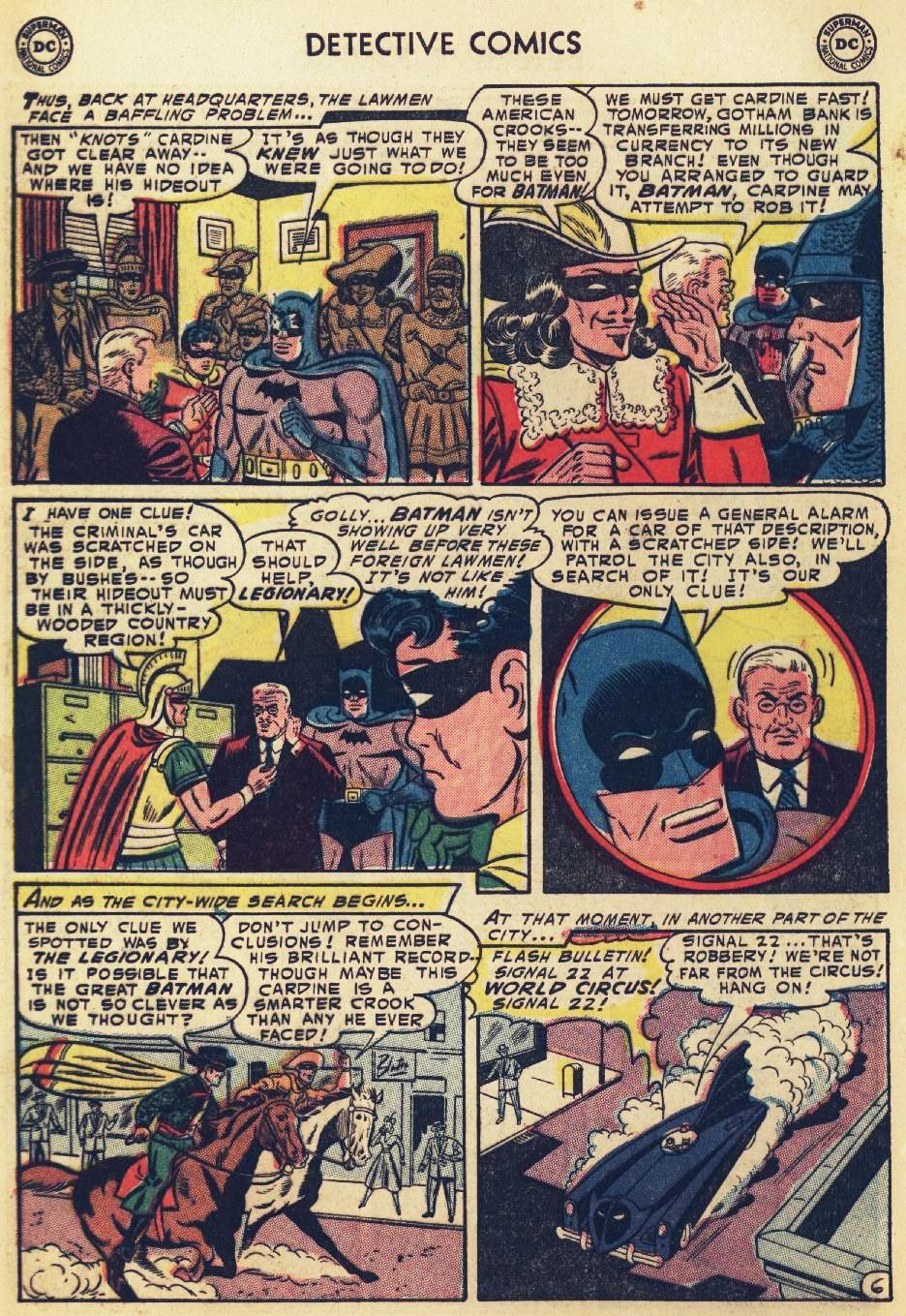 Read online Detective Comics (1937) comic -  Issue #215 - 8