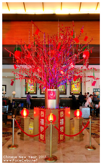 Chinese New Year at the lobby of Waterfront Airport Hotel and Casino