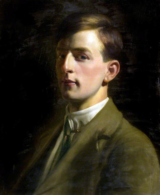 Francis Cooper, Self Portrait, Portraits of Painters, Fine arts, Portraits of painters blog, Paintings of Francis Cooper, Painter Francis Cooper