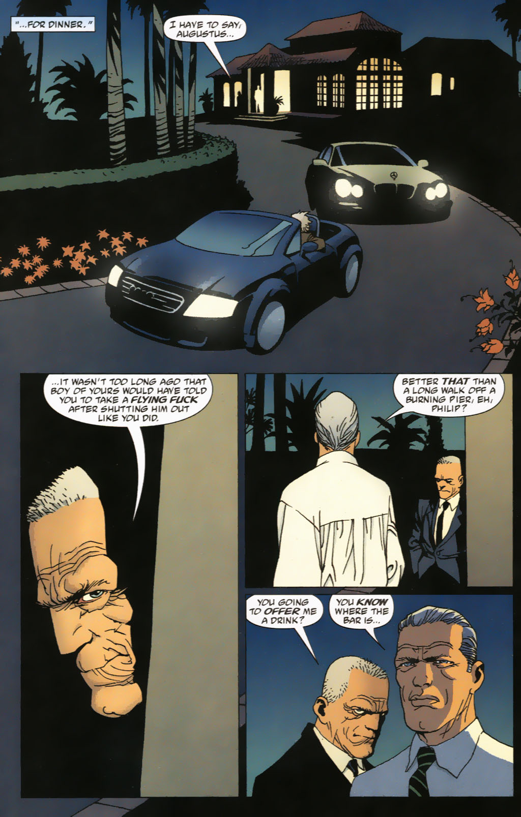 Read online 100 Bullets comic -  Issue #63 - 12