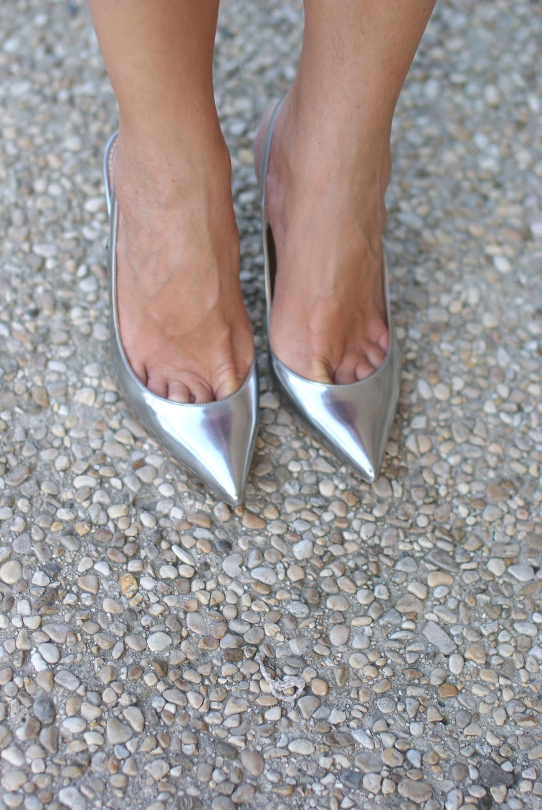 Scarpe silver Le Silla su Fashion and Cookies fashion blog, fashion blogger style