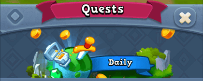 World of Legends - Daily Quests