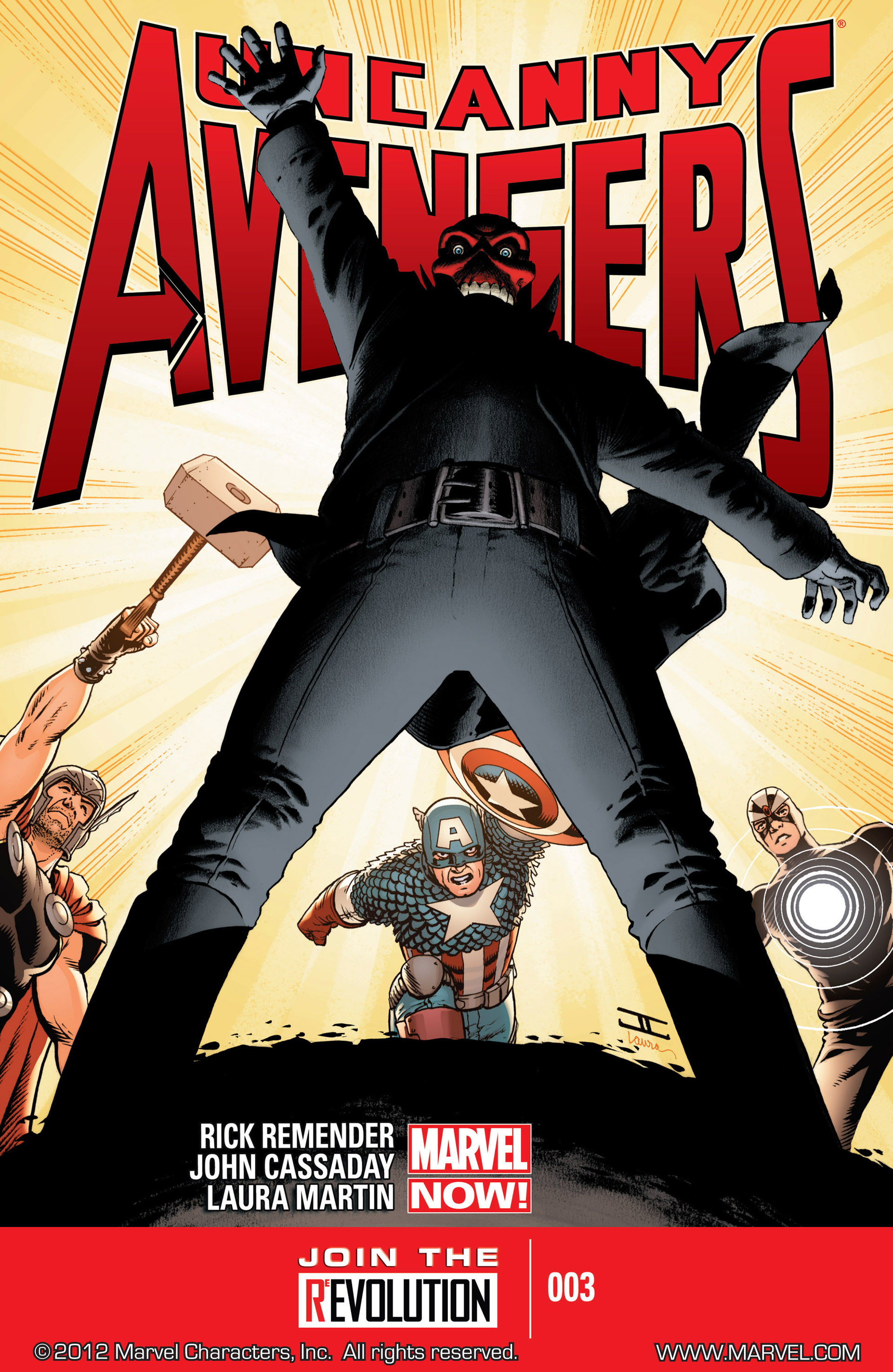 Uncanny Avengers (2012) issue 3 - Page 1