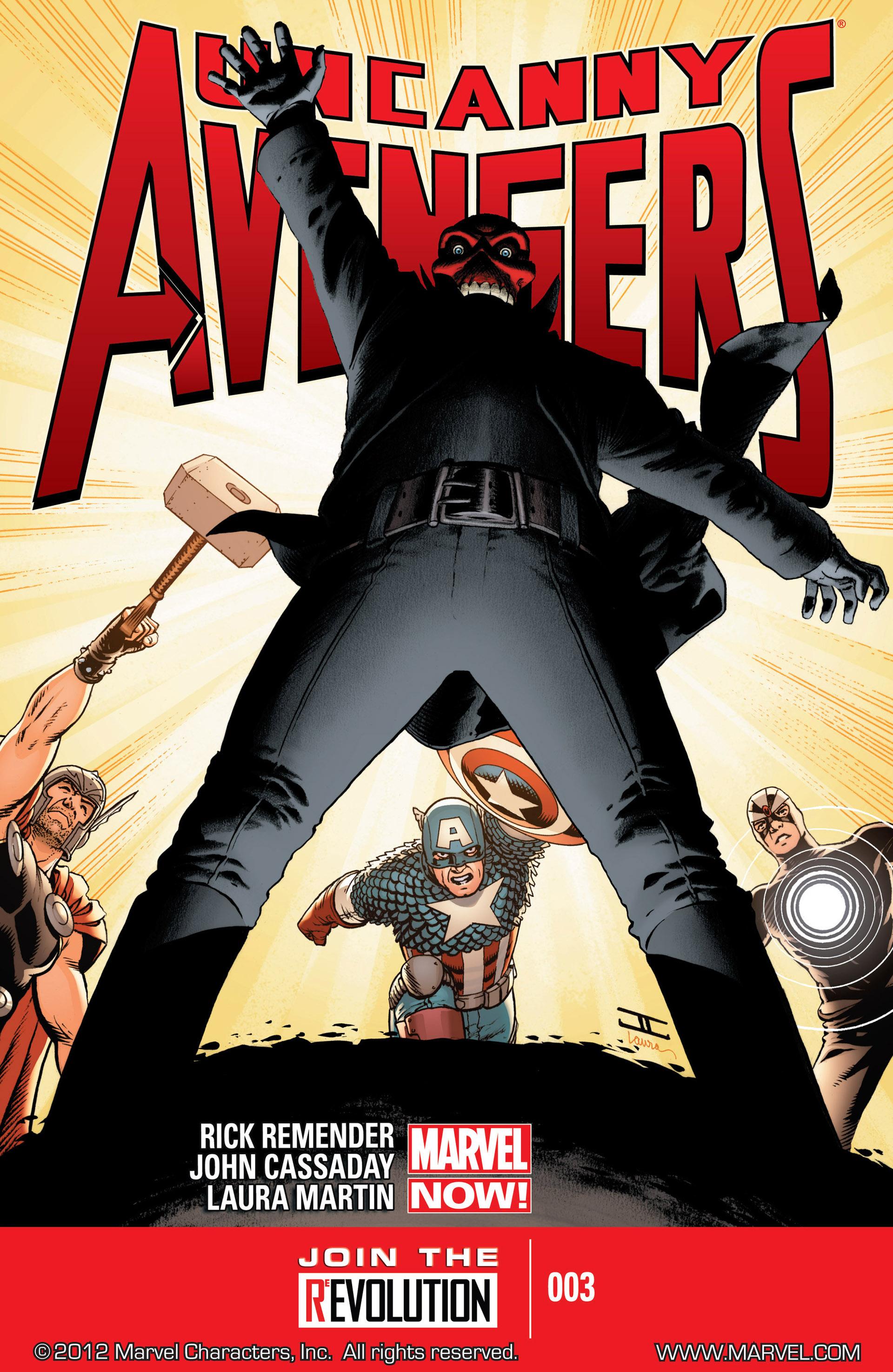 Read online Uncanny Avengers (2012) comic -  Issue #3 - 1
