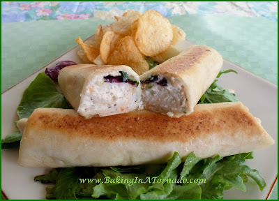 Sauteed Seafood Wraps | www.BakingInATornado.com | #recipe #lunch
