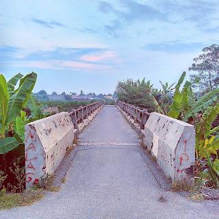 Pedestrian Bridge: Sungai Tembung - Bandar Khalipah
