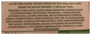 Maseczka oczyszczająca Claryfing Mask (Efektima)
