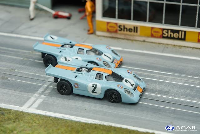 Gulf Porsche 917K John Wyer Team Pedro Rodriguez und Jackie Oliver Winner