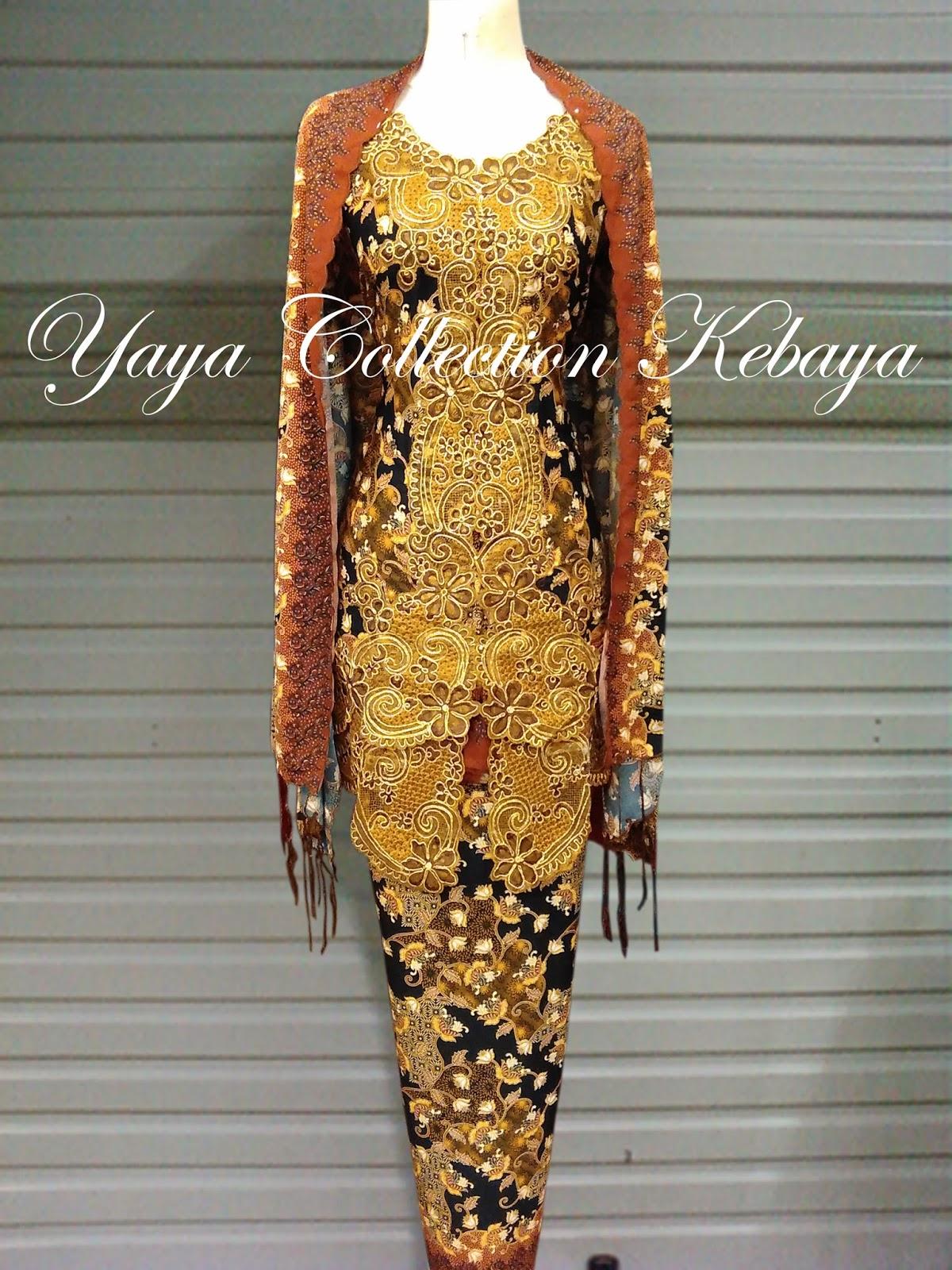 Jual Kebaya Sabrina Batik Modern Yaya Online Shop Toko Selenddang