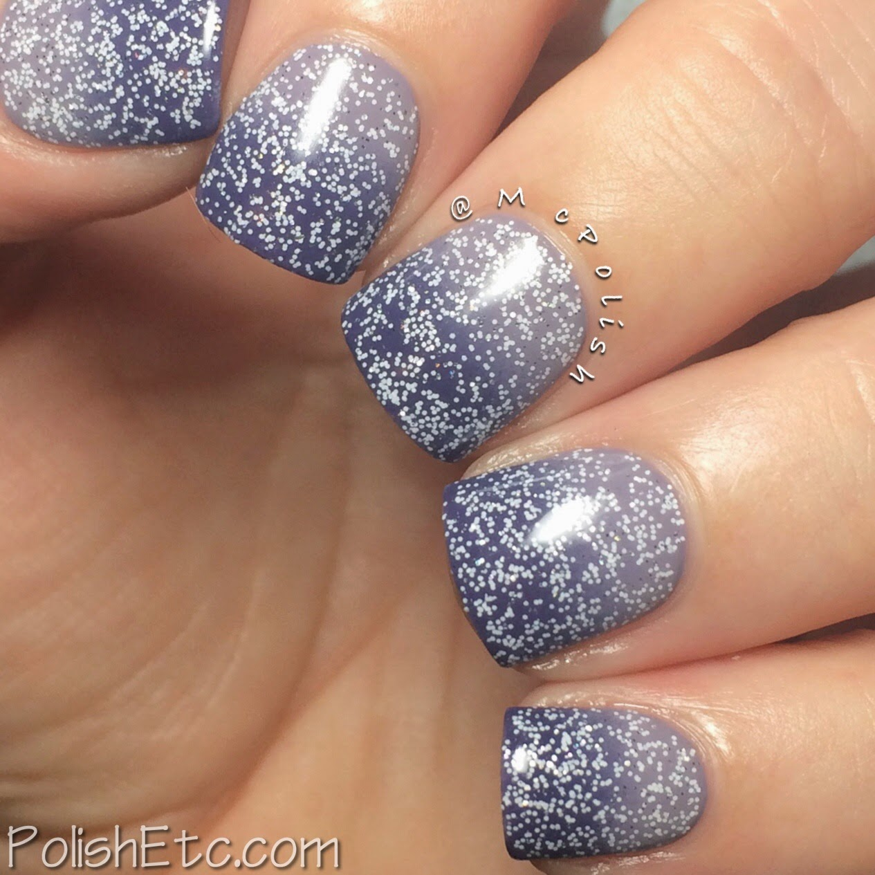 #31dc2014 - 31 Day Nail Art Challenge 2014 by McPolish - VIOLET