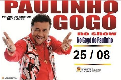 """[Eventos] Espetáculo """"No Gogó do Paulinho"""""""