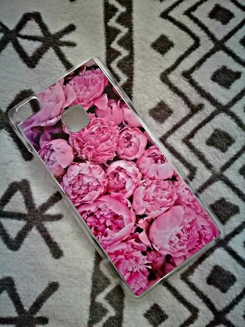 "Moja ulubiona obudowa na telefon - ""Peonies"" od Trendmanii"