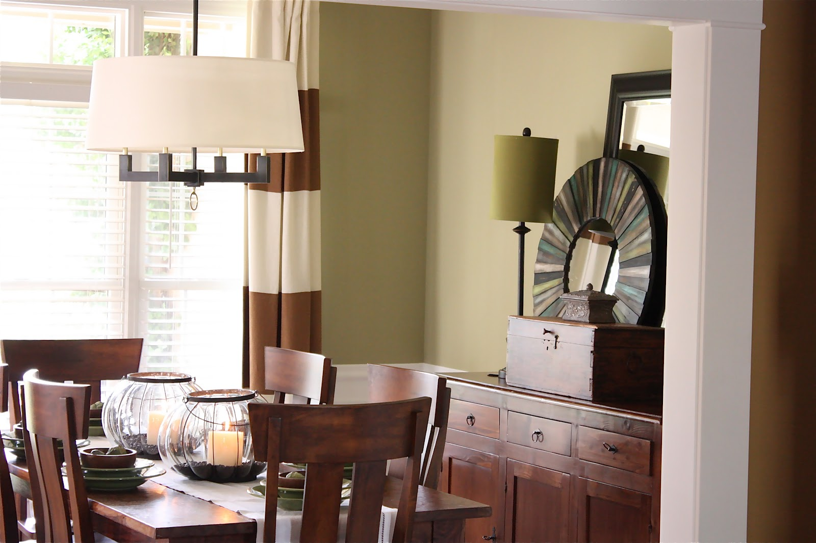 The Yellow Cape Cod: Client Dining Room Makeover~Before and After