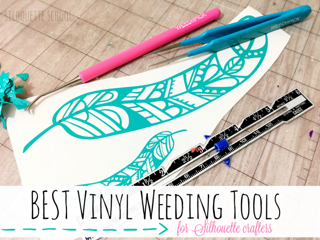 silhouette weeding tools, silhouette vinyl, silhouette cameo