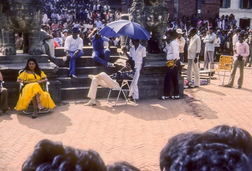 SwimInIndia391 Bhaktapur Nepal Zeenat Aman Amitabh Bachchan