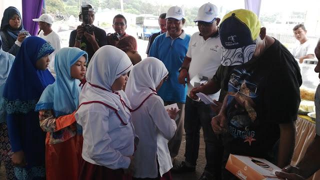 Sabang Marine Festival, Panitia Santuni 46 Anak Yatim Piatu