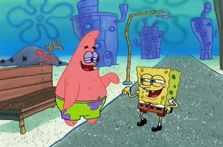 bob esponja y patricio nooo meme