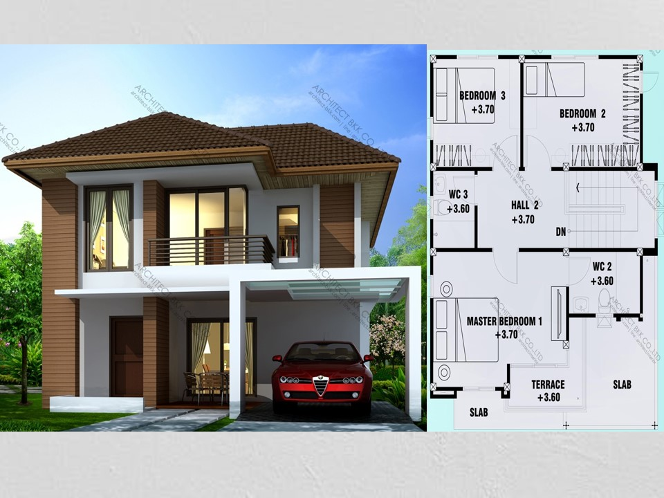What is your main priority in building your dream home? Many of us would agree that style and comfort are very important components in any home big or small. But in designing a house where four to six dwellers should fit, it might be a challenge. This is the reason why it is very important to hire an expert or architect to design your home to achieve what you been dreaming of! Nowadays there are many modern designs of two-story homes fit for mid-sized families. Just for example these three houses we compile for you that will surely inspire any future homeowner! We all know that the modern style has been popular because it is the style that fits life in the city. Not only these because with these houses you can always bring the modernity in the countryside!