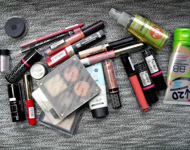 PORZĄDEK W KOLORÓWCE | mini-recenzje, wyrzutki i zbiór po czystce