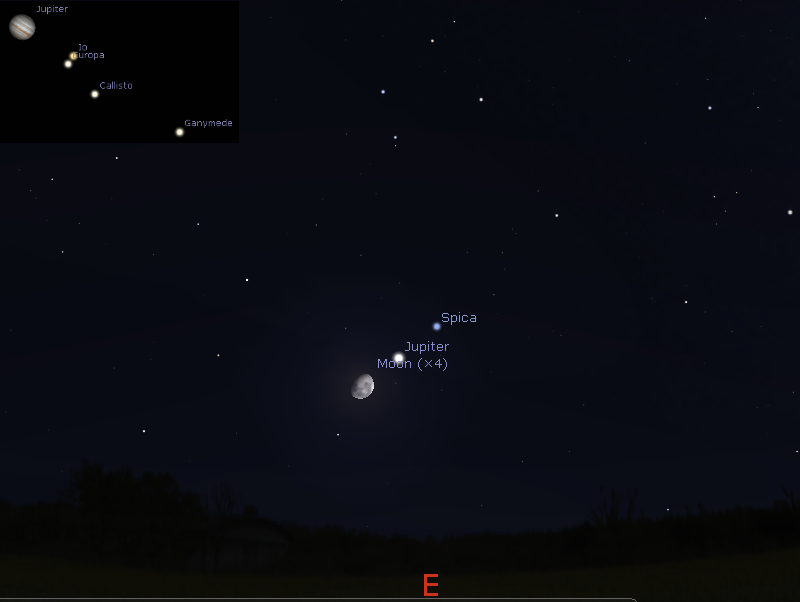 Astroblog The Sky This Week Thursday February To Thursday - Night sky map now