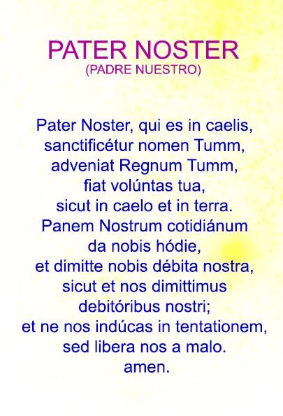 PATER NOSTER LATIN EPUB