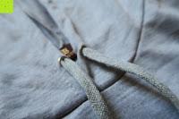 Band: Yidarton Frauen Lange Aermel Double Split Hoodie Pullover Pockets Sweater Kapuzenpullover
