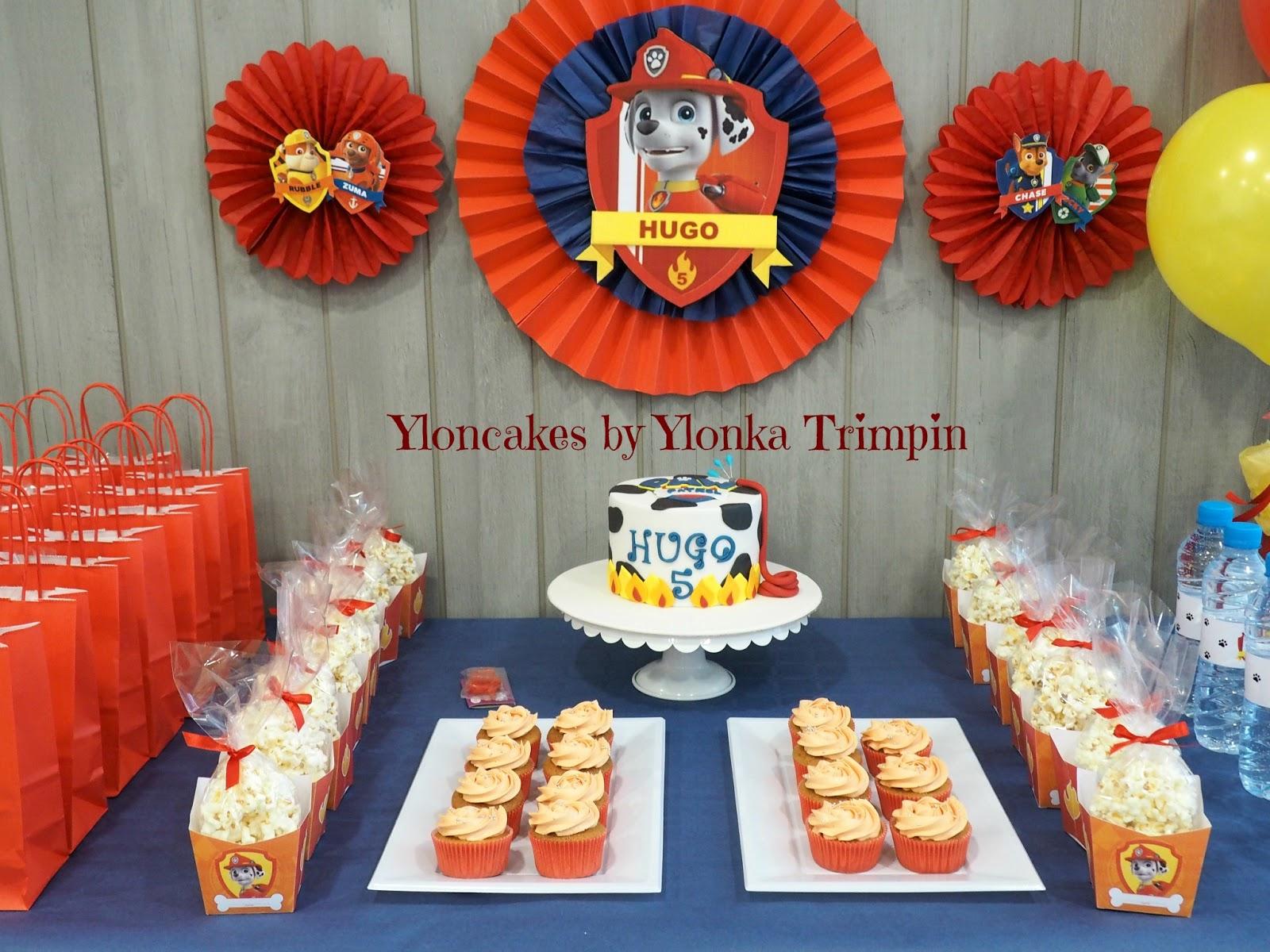 Yloncakes mesa dulce patrulla canina - Decoracion de la patrulla canina ...