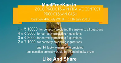 FIFA World Cup Mania Contest Predict & Win