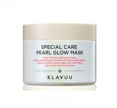 4. Klavuu Special Care Pearl Glow Mask