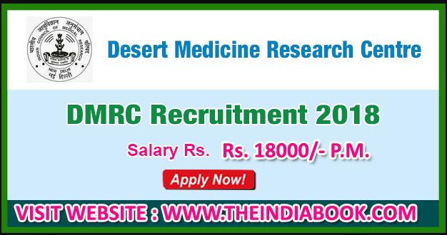 DMRC Jodhpur Recruitment For Walk in for Field Worker/ Technician-III Posts 2018