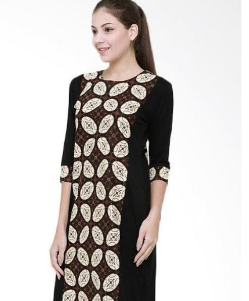 Desain Baju Batik Unik: 13 Desain Baju Batik Pilihan Kombinasi Polos, Mana