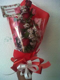 buket bunga mawar surabaya32
