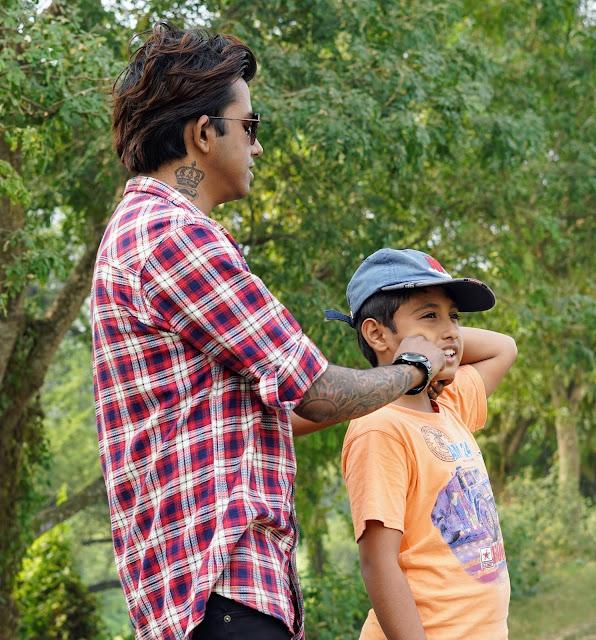 Sourajit Saha With Rick 6