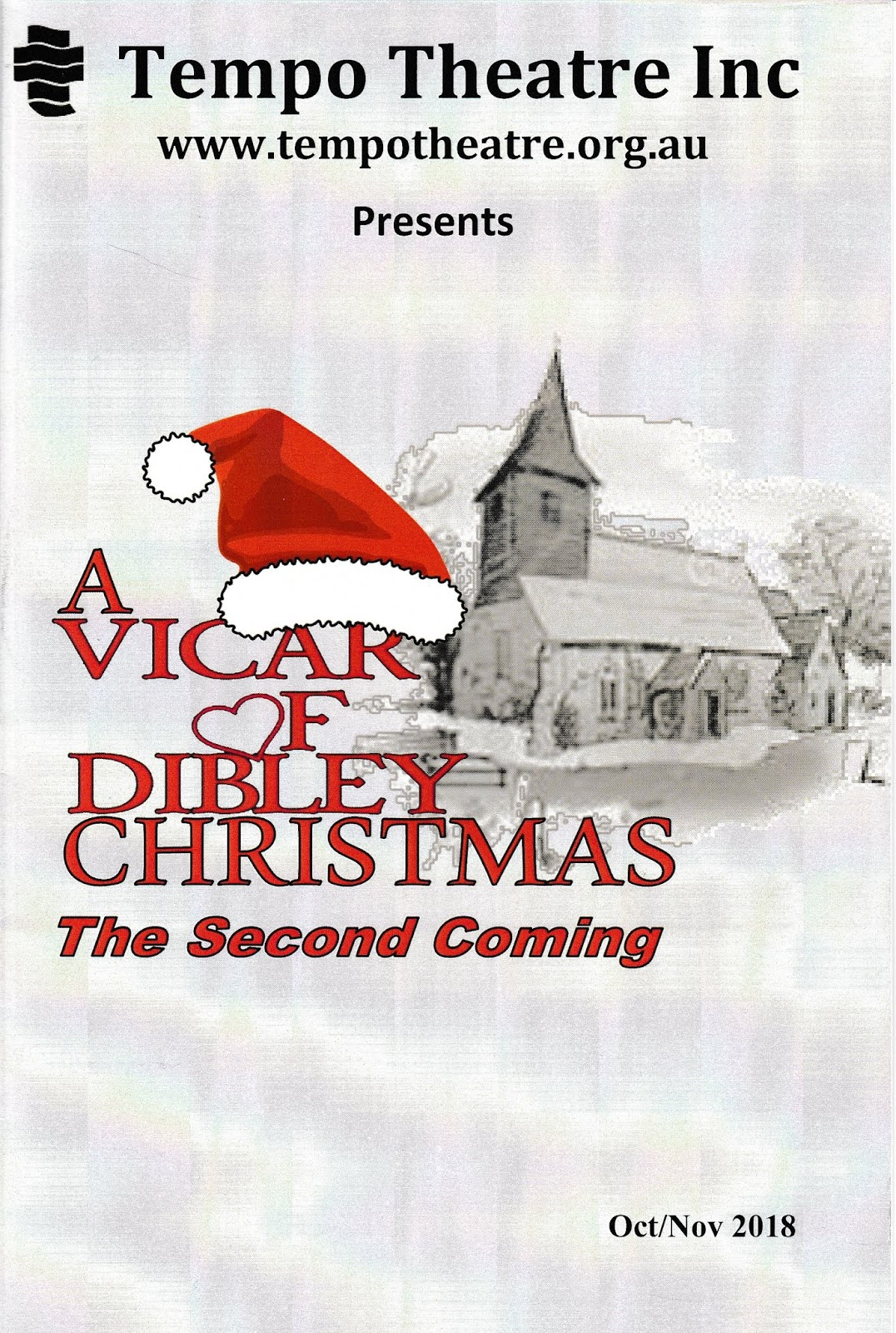 Canberra Critics Circle: A VICAR OF DIBLEY CHRISTMAS - THE SECOND COMING