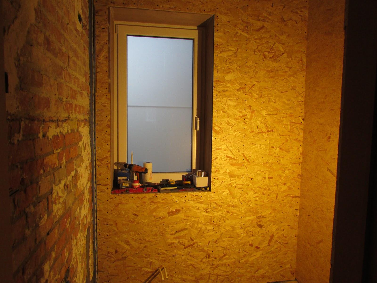 verbouwing van ons ouderlijk huis: voorzetwanden badkamer 7