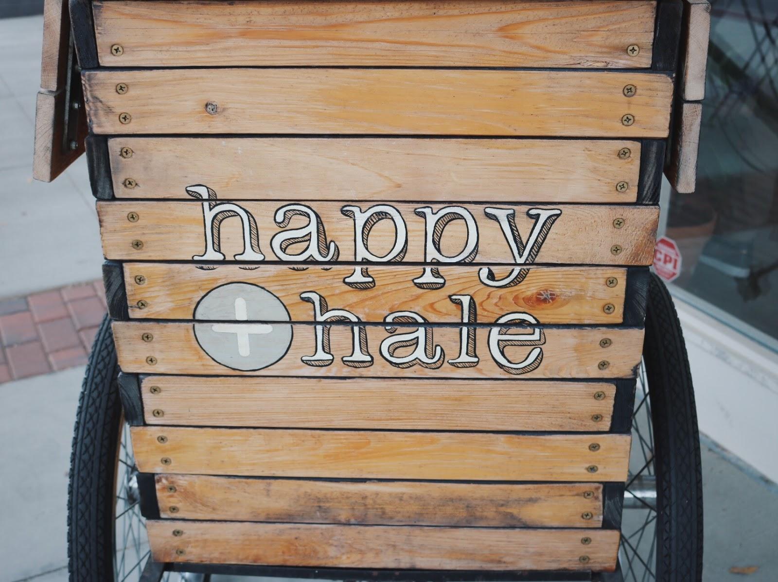 Happy + Hale cart in Durham, NC