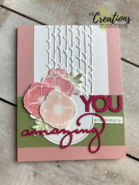 Angie McKenzie   APM Creations   WWYS #158 Amazing You