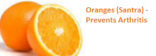 Health Benefits of Oranges (Santra) - Prevents Arthritis