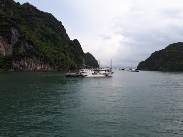 Enjoy Halong Bay One Day Cruise from Hanoi Old Quarters