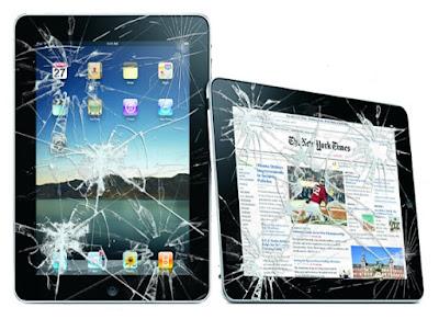 ipad mini 3 bị vỡ màn hình thì phải thay mới