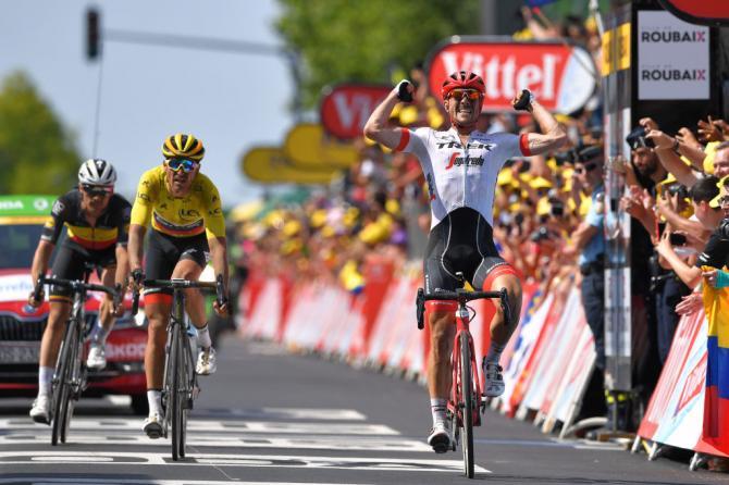 Tour de Francia 2018 - Resultados de la 8ª a la 10ª etapa