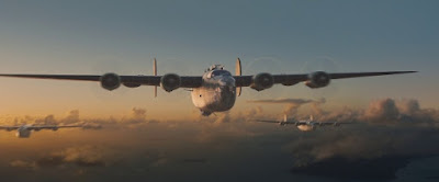 B-24 Liberators on a bombing raid