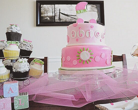eco-friendly girl baby shower
