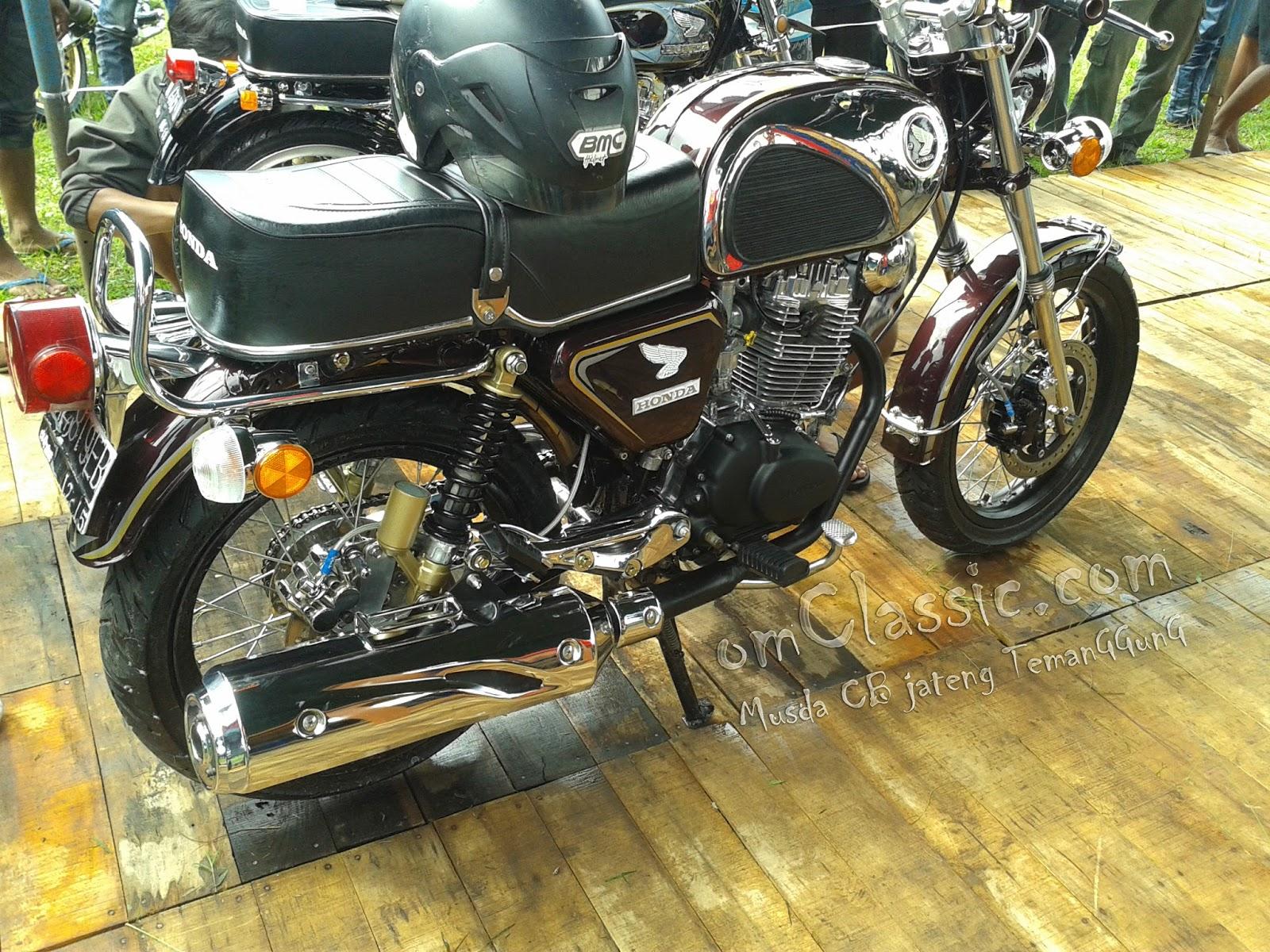 108 Modifikasi Motor Cb Ban Besar Modifikasi Motor Honda CB Terbaru